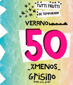 Cupón Grisino ( 2 días más )