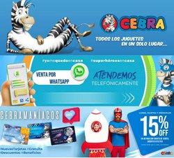 Ofertas de Juguetes, Niños y Bebés en el catálogo de Juguetería Cebra ( 10 días más)