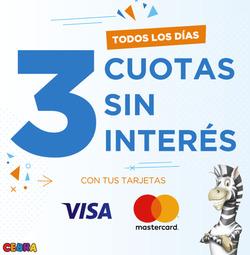 Ofertas de Juguetería Cebra  en el folleto de Vicente López