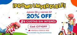 Cupón City Kids en Burzaco ( Caduca hoy )