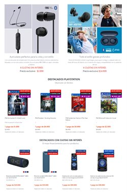 Ofertas de Spiderman en Sony