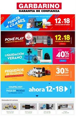 Ofertas de Electrónica y Electrodomésticos en el catálogo de Garbarino en Córdoba ( 2 días más )
