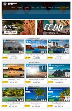 Ofertas de Viajes en el catálogo de Garbarino Viajes en Belén de Escobar ( 4 días más )