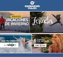Catálogo Garbarino Viajes ( 2 días más)