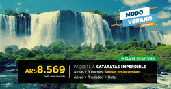 Ofertas de Viajes  en el folleto de Garbarino Viajes en San Antonio de Padua