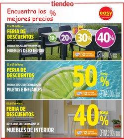 Ofertas de Muebles y Decoración en el catálogo de Easy en San Miguel de Tucumán ( Caduca mañana )
