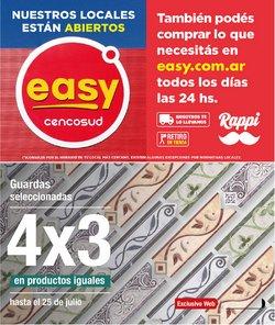 Ofertas de Easy en el catálogo de Easy ( Vence hoy)
