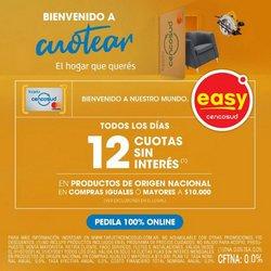 Ofertas de Easy en el catálogo de Easy ( 6 días más)