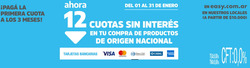 Cupón Easy en Buenos Aires ( 12 días más )