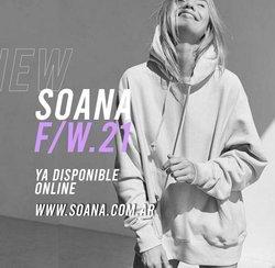 Ofertas de Soana en el catálogo de Soana ( 10 días más)