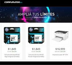 Ofertas de Electrónica y Electrodomésticos en el catálogo de Compumundo ( 3 días más)