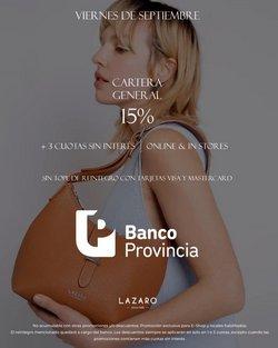 Ofertas de Lazaro en el catálogo de Lazaro ( 10 días más)
