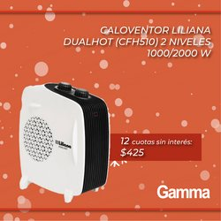 Catálogo Gamma ( 4 días más)