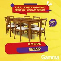 Ofertas de Muebles y Decoración en el catálogo de Gamma ( Publicado hoy)