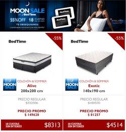 Ofertas de Bed Time en el catálogo de Bed Time ( 9 días más)