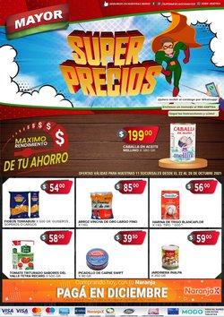 Ofertas de Supermercados Mayor en el catálogo de Supermercados Mayor ( 3 días más)