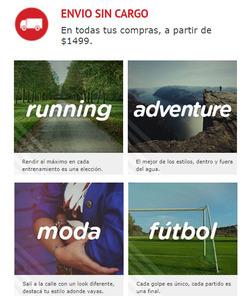 Ofertas de Open Sports  en el folleto de Mar del Plata