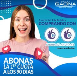 Cupón Grupo Gaona en Buenos Aires ( 11 días más )