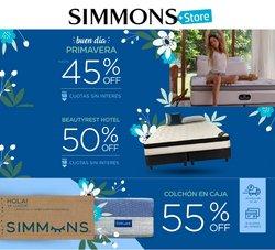Ofertas de Simmons en el catálogo de Simmons ( 22 días más)