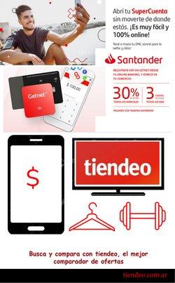 Ofertas de Bancos y Seguros en el catálogo de Santander Rio en Rosario ( 23 días más )