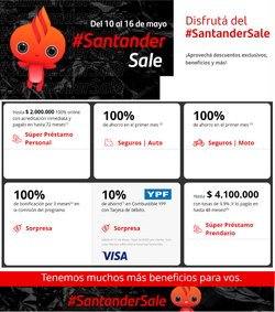 Catálogo Santander Rio ( Vence hoy)