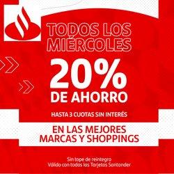 Catálogo Santander Rio ( Más de un mes)