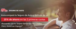 Ofertas de Bancos y seguros  en el folleto de Santander Rio en Mercedes (Buenos Aires)