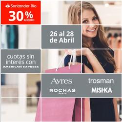 Ofertas de Bancos y seguros  en el folleto de Santander Rio en Punta Alta