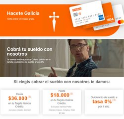Ofertas de Banco Galicia en el catálogo de Banco Galicia ( 3 días más)