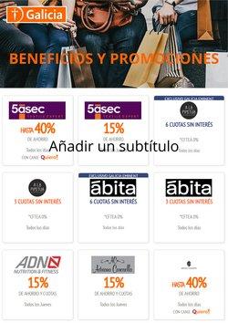 Ofertas de Bancos y Seguros en el catálogo de Banco Galicia ( Más de un mes)