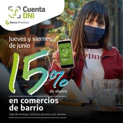 Ofertas de Banco Provincia en el catálogo de Banco Provincia ( 11 días más)