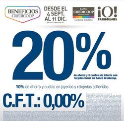 Ofertas de Banco Credicoop  en el folleto de Buenos Aires