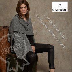 Ofertas de Cardon en el catálogo de Cardon ( 2 días más)