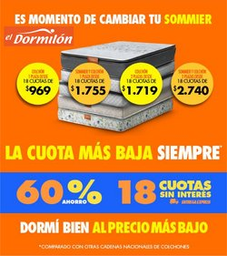 Catálogo El Dormilon ( 6 días más)