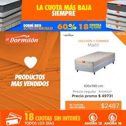Ofertas de Muebles y Decoración en el catálogo de El Dormilon ( 18 días más)