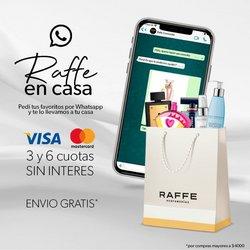 Ofertas de Raffe Perfumerías en el catálogo de Raffe Perfumerías ( Vencido)