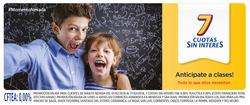 Ofertas de Bancos y seguros  en el folleto de Tarjeta Nevada en Palpalá