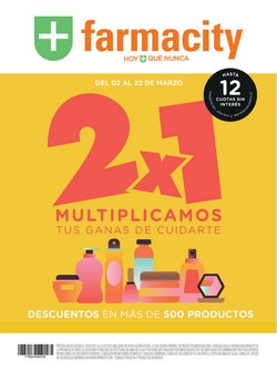 Ofertas de Farmacias y Ópticas en el catálogo de Farmacity en Resistencia ( 3 días publicado )