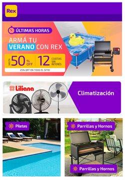 Ofertas de Ferreterías y Jardín en el catálogo de Pinturerías Rex en General Pacheco ( 2 días publicado )