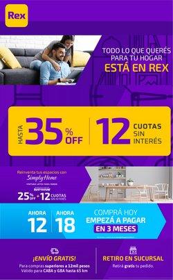 Ofertas de Ferreterías y Jardín en el catálogo de Pinturerías Rex en Martínez ( 25 días más )