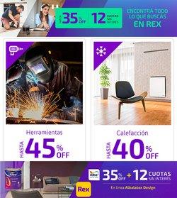 Ofertas de Ferreterías y Jardín en el catálogo de Pinturerías Rex ( 3 días más)