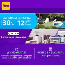 Ofertas de Pinturerías Rex en el catálogo de Pinturerías Rex ( Vence hoy)