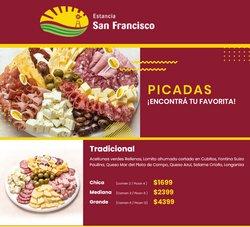 Ofertas de Estancia San Francisco en el catálogo de Estancia San Francisco ( 6 días más)