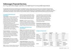 Ofertas de Financiación en Volkswagen