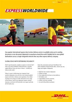 Ofertas de Bancos y Seguros en el catálogo de DHL en Boulogne ( Más de un mes )