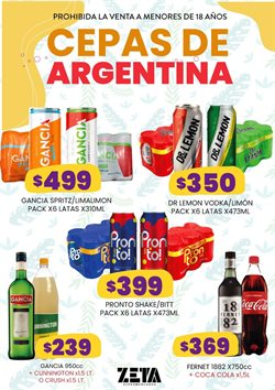 Ofertas de Coca-Cola en Supermercados Zeta