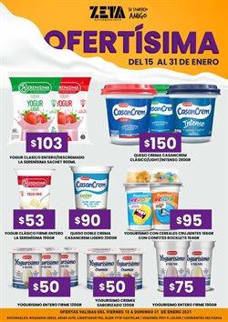 Ofertas de Queso crema en Supermercados Zeta