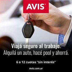 Ofertas de Autos, Motos y Repuestos en el catálogo de Avis ( 2 días más)