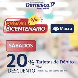 Catálogo Supermercados Damesco ( 7 días más)