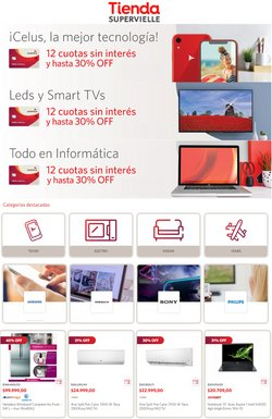 Ofertas de Tablet en Banco Supervielle